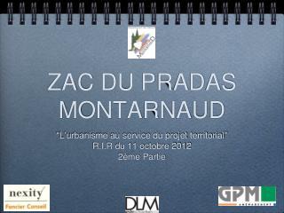 ZAC DU PRADAS MONTARNAUD
