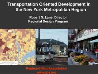 Transportation Oriented Development in the New York Metropolitan Region