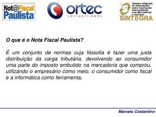 O que é o Nota Fiscal Paulista?