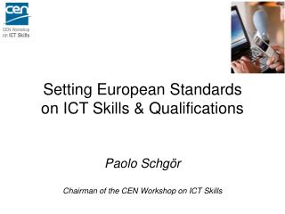 1) to provide a platform for  ICT-Skills stakeholders  ... and develop a common view ...
