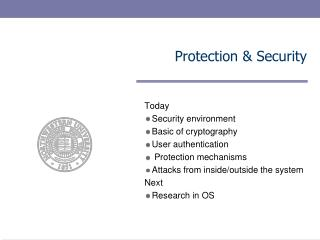 Protection & Security