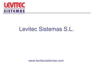 Levitec Sistemas S.L.