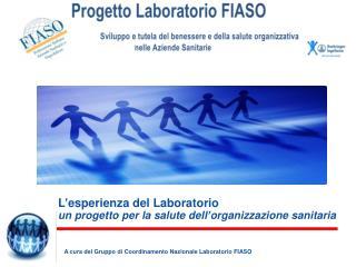 L ' esperienza del Laboratorio un progetto per la salute dell ' organizzazione sanitaria