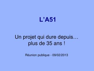 L'A51