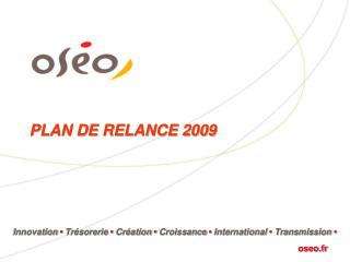 PLAN DE RELANCE 2009