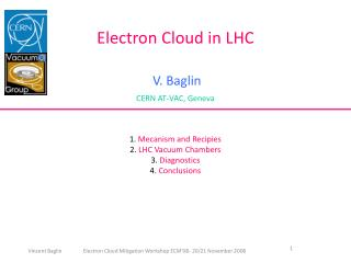 Electron Cloud in LHC