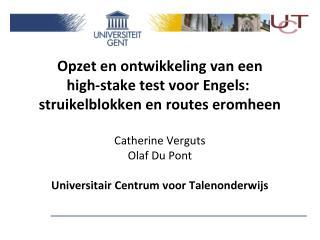Taalvoorwaarden Engelstalige masters ERK - B2 te bewijzen via  TOEFL  IELTS