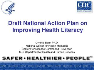 Draft National Action Plan on Improving Health Literacy