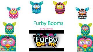 Furby Booms