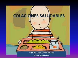 COLACIONES SALUDABLES