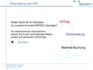 Vielen Dank für Ihr Interesse  an unseren bi-tuned-ADHOC-Lösungen!