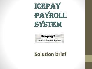 Icepay  Payroll System