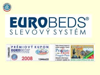 Karta EUROBEDS + Prémiový kupon =  SLEVA