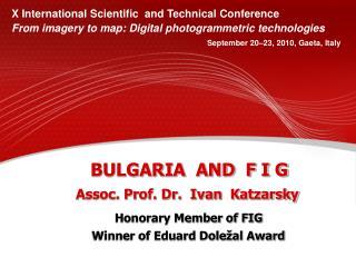 BULGARIA  AND  F I G