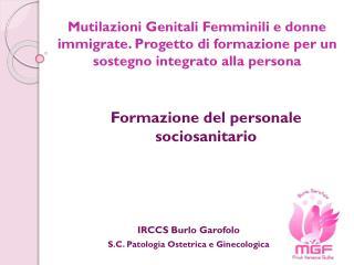 Formazione del personale sociosanitario