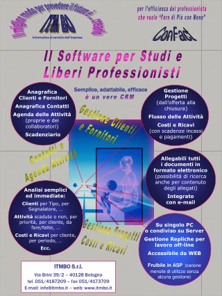 Il Software per Studi e