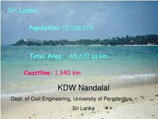 Total Area:  : 65,610 sq km