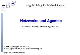 Netzwerke und Agenten