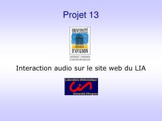 Projet 13
