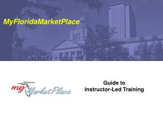 Guide to Instructor-Led Training
