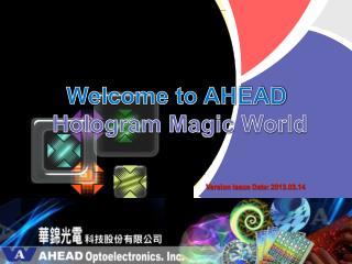 AHEAD Optoelectronics, Inc .