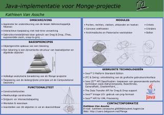 Java-implementatie voor Monge-projectie
