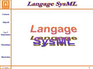 Langage SysML