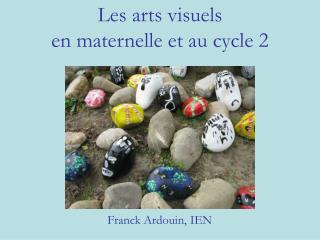 Les arts visuels en maternelle et au cycle 2