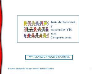 Recursos y materiales TIC para alumnos de Compensatoria