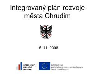 Integrovaný plán rozvoje města Chrudim