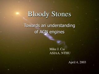 Bloody Stones