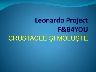 Leonardo Project F&B4YOU