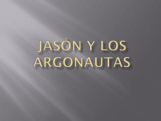 Jasón y los argonautas