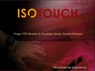 Finger TPS Wireless & Prosthetic Sensor System Software