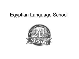 Egyptian Language School