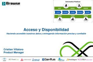 Acceso y Disponibilidad
