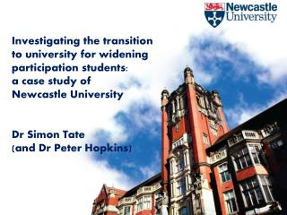 Investigating the transition to university for widening participation students:  a case study of