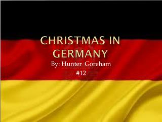 Christmas in  G ermany