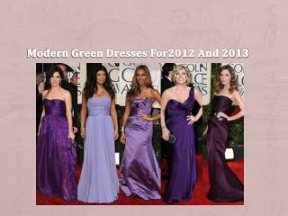 modern purple dress for parties 2012
