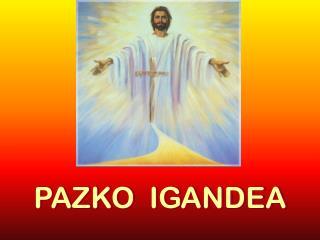 PAZKO  IGANDEA