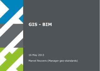 GIS - BIM