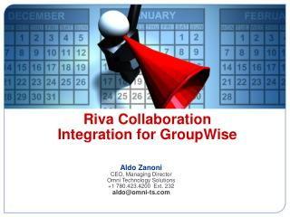 Riva Collaboration  Integration for GroupWise
