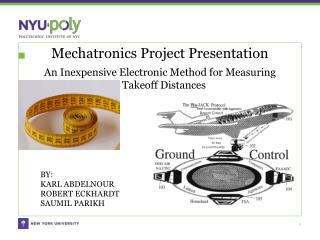 Mechatronics Project Presentation