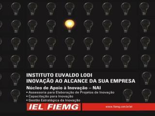 MOBILIZAÇÃO EMPRESARIAL PELA INOVAÇÃO - MEI CÉLIO CABRAL Instituto Euvaldo Lodi – NR/MG