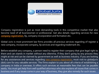 Enrich Your Corporate Ways with Company Registration