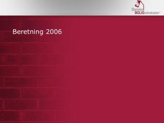 Beretning 2006