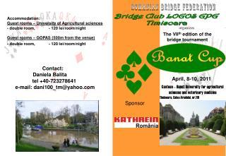 Bridge Club LOGOS GPG Timisoara