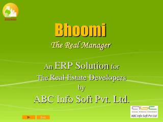 Bhoomi The Real Manager