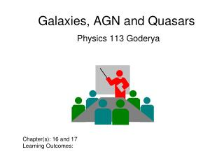 Galaxies, AGN and Quasars