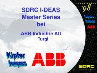 SDRC I-DEAS  Master Series  bei